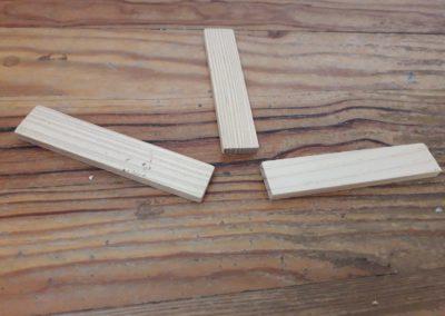 buchettes en bois