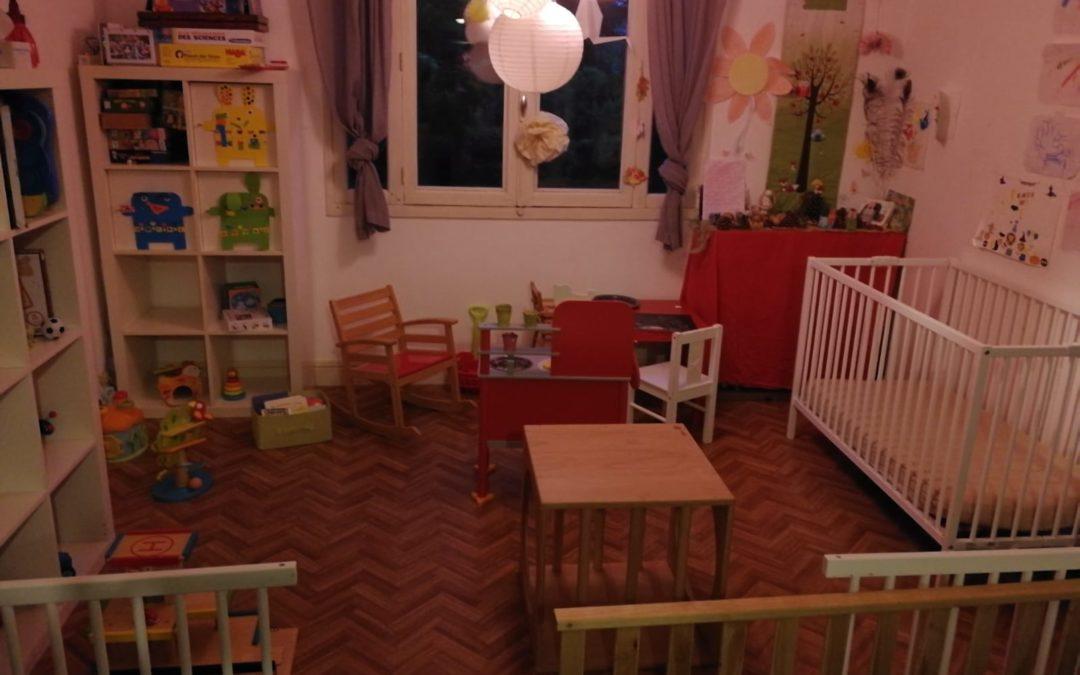 Mai 2020, reprise de l'accueil chez une assistante maternelle