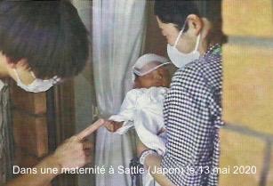 Maternité de Sattle au Japon en mai 2020