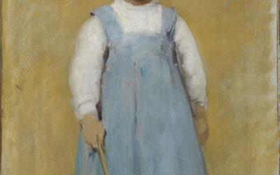 Le petit Bernard, huile sur bois 1912