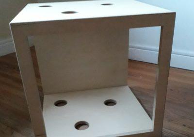 Cube cheminée